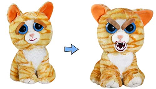 William Mark Feisty Pets Princess Pottymouth Adorable Plush Stuffed Cat that Turns Feisty with a ()