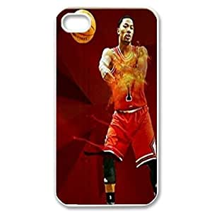 Derrick Rose Customized Case for Iphone 4,4S, New Printed Derrick Rose Case