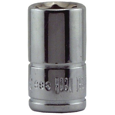 (Great Neck 38s 3/8 X 1/4 Drive 6 Point Socket Standard by Great Neck)