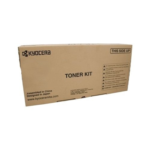 Kyocera 1T02LF0US0 Model TK-6707 Black Toner Cartridge For use with Kyocera TASKalfa 6500i, 6501i, 8000i and 8001i Monochrome Multifunctional Printers; Up to 70000 Pages Yield at 5% Average Coverage
