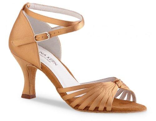 Anna Kern Women's Model 526 - 2 1/2'' (6.0 cm) Flare Heel, 9 M US (6 UK) by Anna Kern