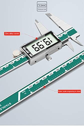 H-Measuring Calibro A Corsoio Per La Misurazione Della Profondità del Display Digitale, Calibro In Acciaio Inossidabile Con Ampio Display Digitale