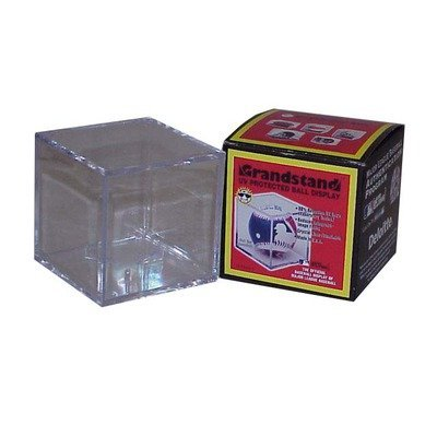 BallQube Grandstand Style Baseball Display Case with UV Protection