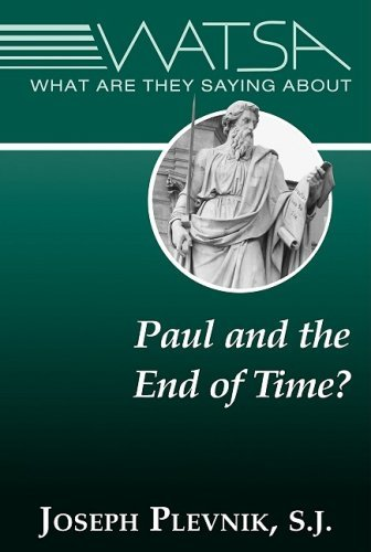 Read Online What Are They Saying about Paul and the End Time? pdf epub