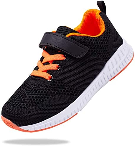 Santiro Black Boys Shoes Breathable