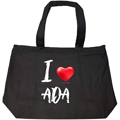 I Love Ada - Tote Bag With Zip