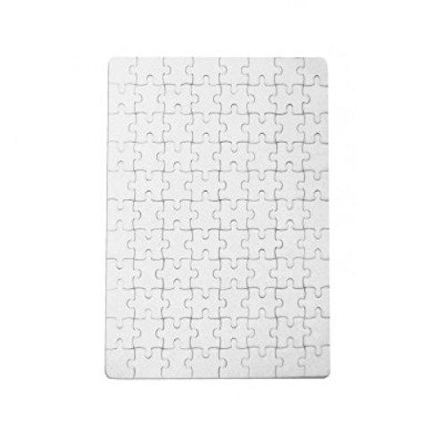 Puzzle rettangolare per sublimazione A4 Stampa Continua