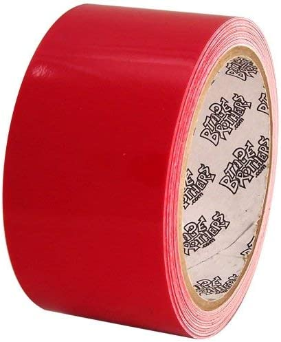 Tape Planet Red//Pink 1 inch x 10 yards Etched Outdoor Vinyl Tape