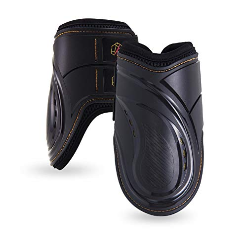 Kavallerie Fetlock Boots for Horses Pro-K 3D Air Mesh Horse Ankle Boots with Impact Resistant and Breathable Soft Padding for Horse Jumping & Training - Neoprene Fetlock Boots