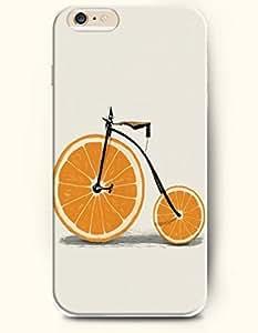 OFFIT iPhone 6 Plus Case 5.5 Inches Bike with Orange-shanped Tire wangjiang maoyi
