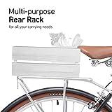"sixthreezero Ride In The Park Men's 7-Speed Touring City Bike, 700x32c Wheels, Matte Black, 18""/One Size"