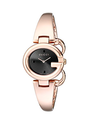 c7223282d61 GUCCI Guccissima Collection Rose Gold-Tone Stainless Steel Bangle ...