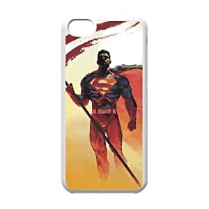 Superman iPhone 5c Cell Phone Case White xlb-184098