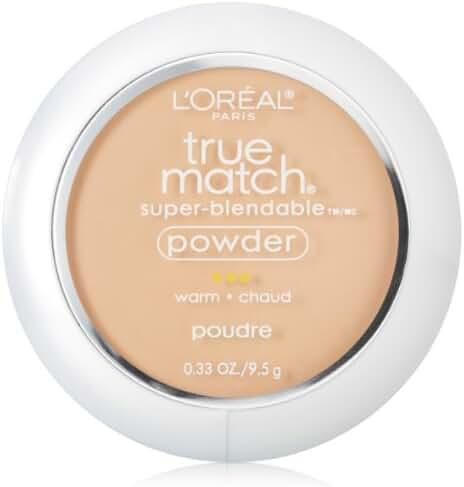 L'Oreal Paris True Match Super-Blendable Powder, Natural Beige, 0.33 oz.