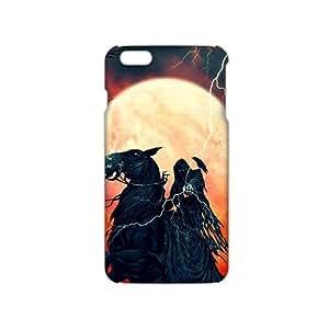 3D Case Cover jinete de la muerte Phone Case for iPhone 4 4s