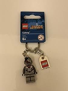 Lego Cyborg Keychain