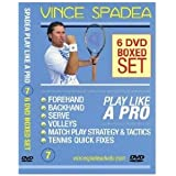 ATP Tennis Tour Pro, Vince Spadea's, Play Tennis Like A Pro, 6 DVD BOXED SET!