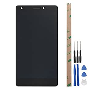 For Huawei Mate S LCD Digitizer Replacement HYYT New LCD display and Touch Screen Digitizer Full of assembly (black)