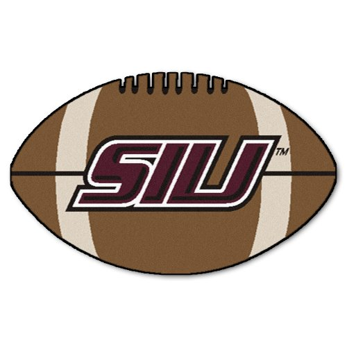 Fanmats NCAA Southern Illinois University Salukis Nylon Face Football Rug -