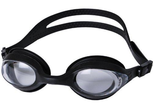 Splaqua swim Goggle with Optical Corrective Lenses, BK-CL...