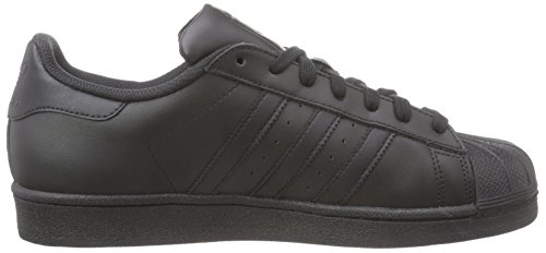 core Eu Herren Adidas Foundation 40 Originals Low Black 5 top Black core Schwarz Superstar pFqHWTCwF