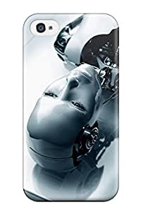TYH - 6194626K69279251 Fashion Case Cover For ipod Touch 4(irobot) phone case