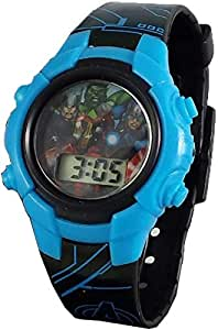 Avengers Kid's Digital Light Up Watch AVG4572