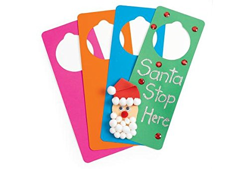 Colorations Foam Door Hangers - Set of 24 (Item # (Foam Door Hangers)