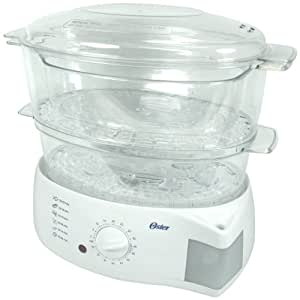 Oster 5711 Mechanical Food Steamer, White