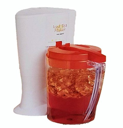mr coffee iced tea maker red - 3