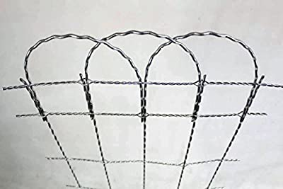 "Decorative Wire Garden Fencing - 25' Long Roll - 36"" Tall"