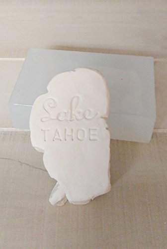 Lake Tahoe, Tahoe Shape Silicone Molds for Soap, Candles, etc. from Laurel Arts