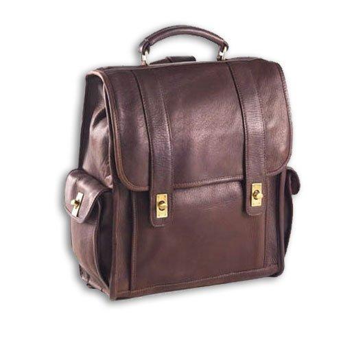 (Clava Turn Lock Briefcase - Vachetta Cafe)