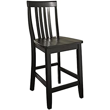 Amazon Com Crosley Furniture Cf500424 Bk X Back Bar Stool