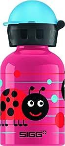 Sigg Bees and Friends - Frasco de plástico, 300 ML, Color Rosa y Azul