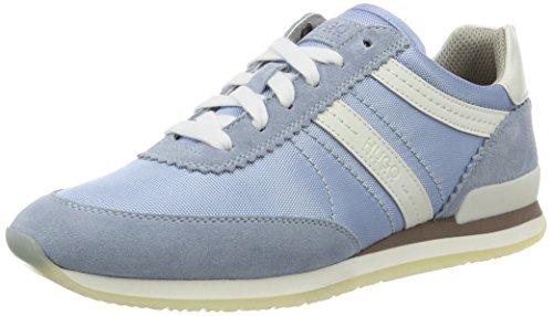 HUGO Damen Adreny-s 10191482 01 Sneaker Blau (Light/Pastel Blue 453)