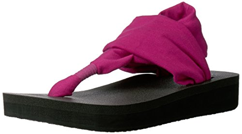 Yoga Wedge Flop Vivid Sling Women''s Flip Violet Sanuk T5Cq4
