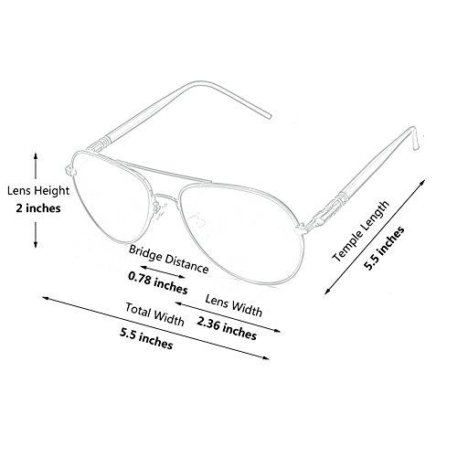 sol polarizadas aviador Premium Marrón 2 Marrón GQUEEN el gafas completa MZZ9 de refleja 80anx4w