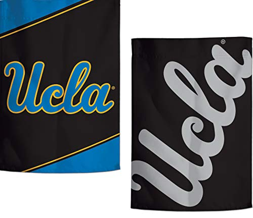 (WinCraft UCLA Bruins Garden Flag, Action Stripes and Charcoal Edition, 12.5x18 inches, 2 Sided)