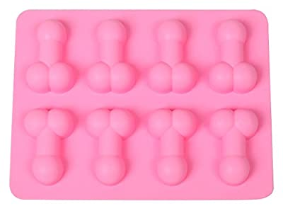 C-Pioneer Mini Chocolate Willy Penis Ice Tray Mould Mold Hen Night Stag Party Fun Novelty