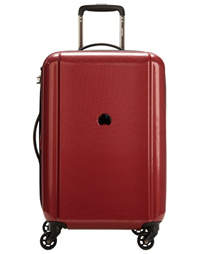 Delsey Luggage Ez Glide 21'' 4 Wheel Expandable Spinner, Burgundy 21' Luggage