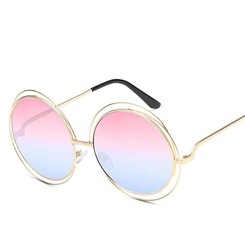 Forme Lunettes Wicemoon Soleil UV400 Femme pour Quotidien nbsp;Protection au Soleil Lunettes de Eyewear Vacances pour Vintage Ronde de rrdwXq