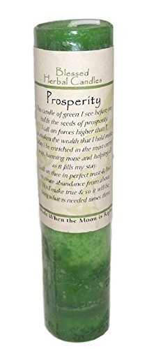 Blessed Herbal Candle - Prosperity (Prosperity Candle)