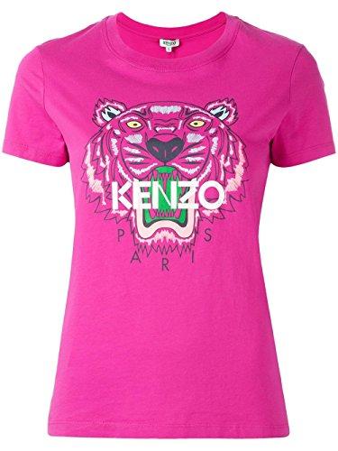 kenzo-womens-f752ts7214yd26-fuchsia-cotton-t-shirt