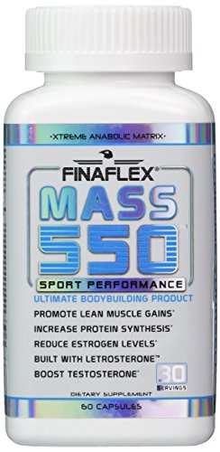 Mass 550, Ultimate Bodybuilding Product, Promote Lean Muscle Gains, Increase Protein Synthesis, Boost Testosterone, D-Aspartic Acid, Fenugreek, Estrogen Blocker
