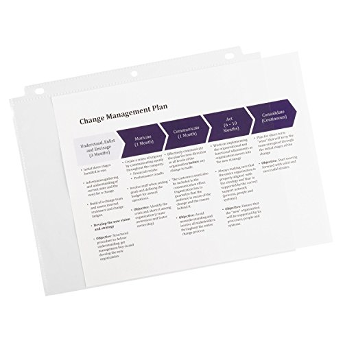Amazon.com : Avery Economy Clear Sheet Protectors, Acid Free ...