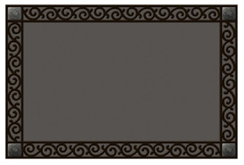 MatMate Rubber Tray-Scroll Doormat -