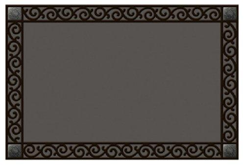 MatMate Rubber Tray-Scroll Doormat