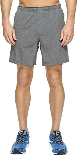 """Brooks Men's Sherpa 7"""" Shorts Heather Asphalt Shorts"""
