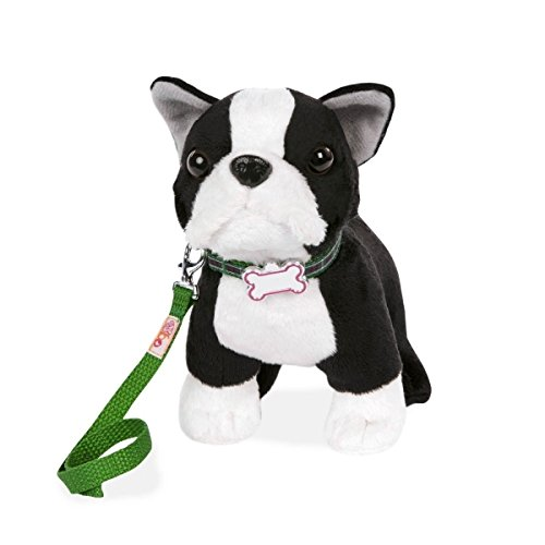 Our Generation Plush Pup - 6 inch (Boston Terrier) ()